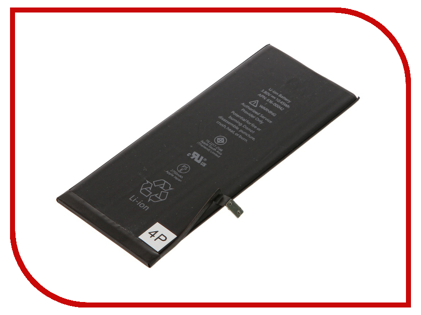 Аккумулятор 4parts для APPLE iPhone 6S Plus 3.82V 2750mAh 10.61Wh Native SPB-iP6S-Plus