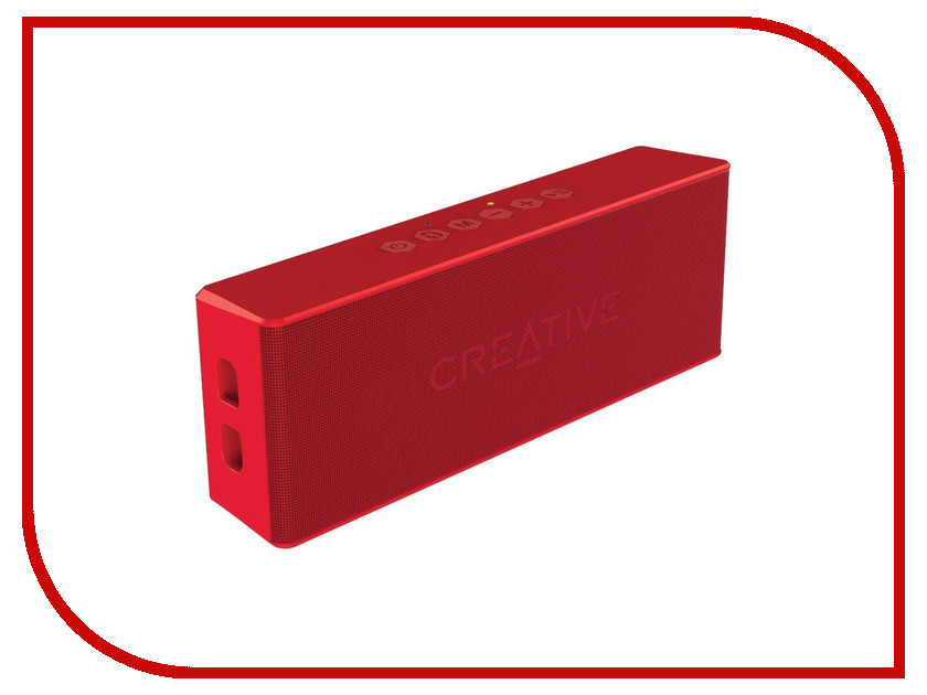 Колонка Creative Muvo 2 Red колонка creative t30 wireless