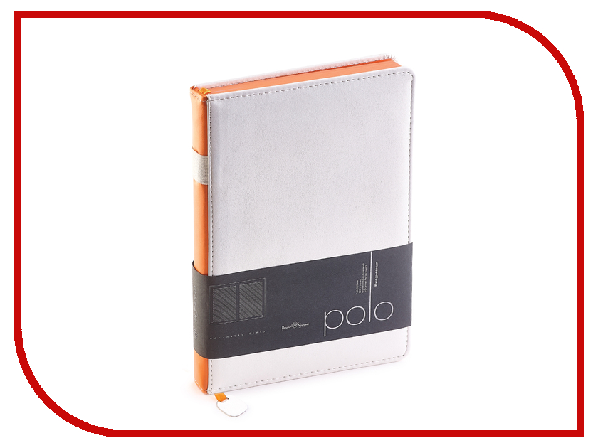 Ежедневник Bruno Visconti Polo A5 White 3-515/07<br>