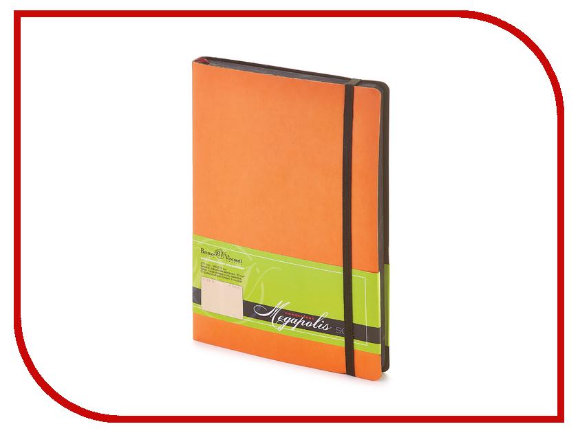 Ежедневник Bruno Visconti Megapolis Soft A5 Orange 3-470/01