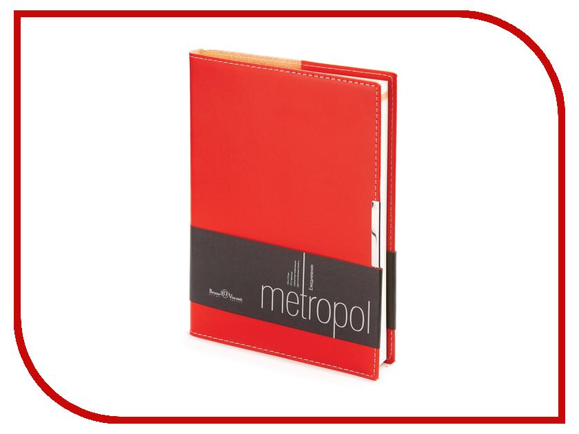 Ежедневник Bruno Visconti Metropol A5 Red 3-491/02<br>
