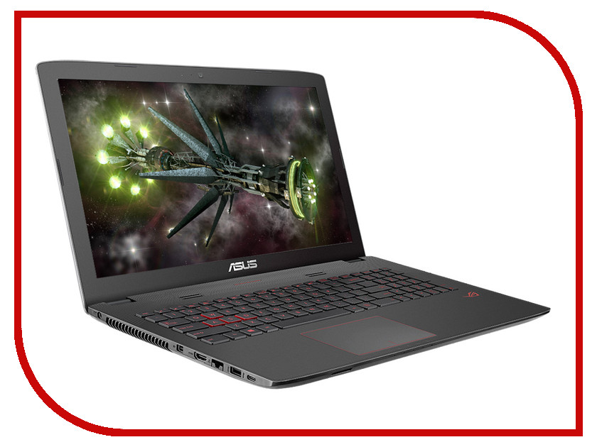 Ноутбук ASUS ROG GL752VW-T4417T 90NB0A42-M05850 (Intel Core i7-6700HQ 2.6 GHz/8192Mb/2000Gb/DVD-RW/nVidia GeForce GTX 960M 2048Mb/Wi-Fi/Cam/17.3/1920x1080/Windows 10 64-bit)