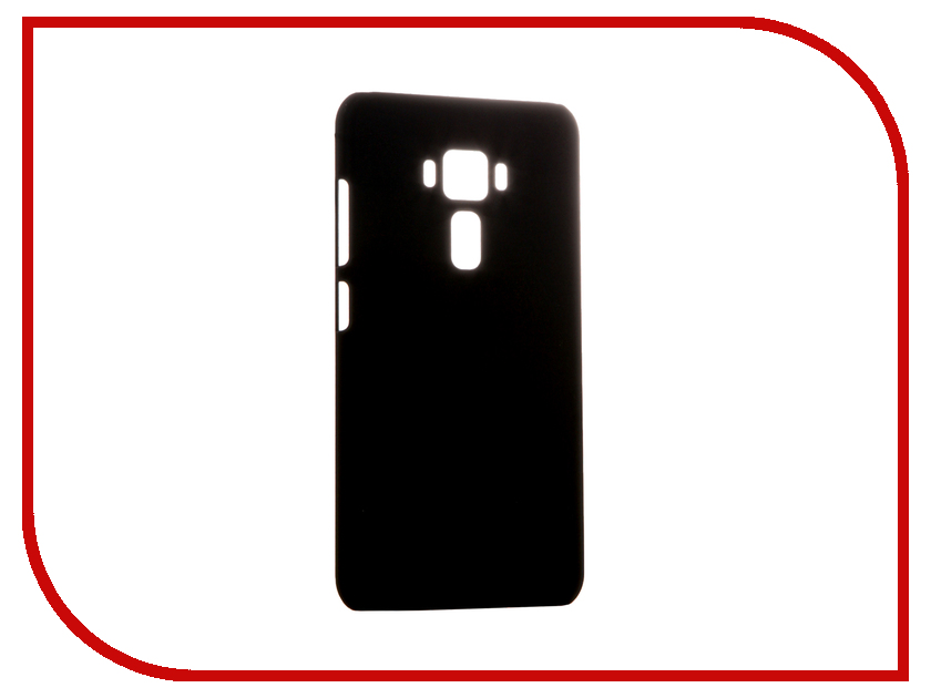 Аксессуар Чехол ASUS ZenFone 3 ZE552KL BROSCO Black AS-ZF35.5-SOFTTOUCH-BLACK аксессуар чехол htc u ultra brosco black htc uu book black