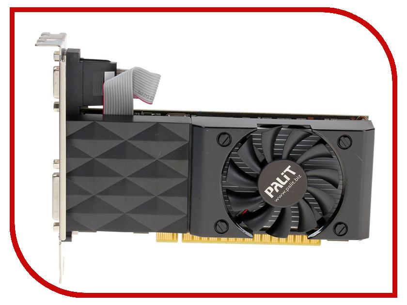 Видеокарта Palit GeForce GT 730 700Mhz PCI-E 2.0 4096Mb 128 bit DVI HDMI HDCP PA-GT730-4GD3