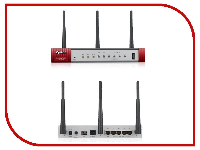 Wi-Fi роутер ZyXEL USG20W-VPN<br>