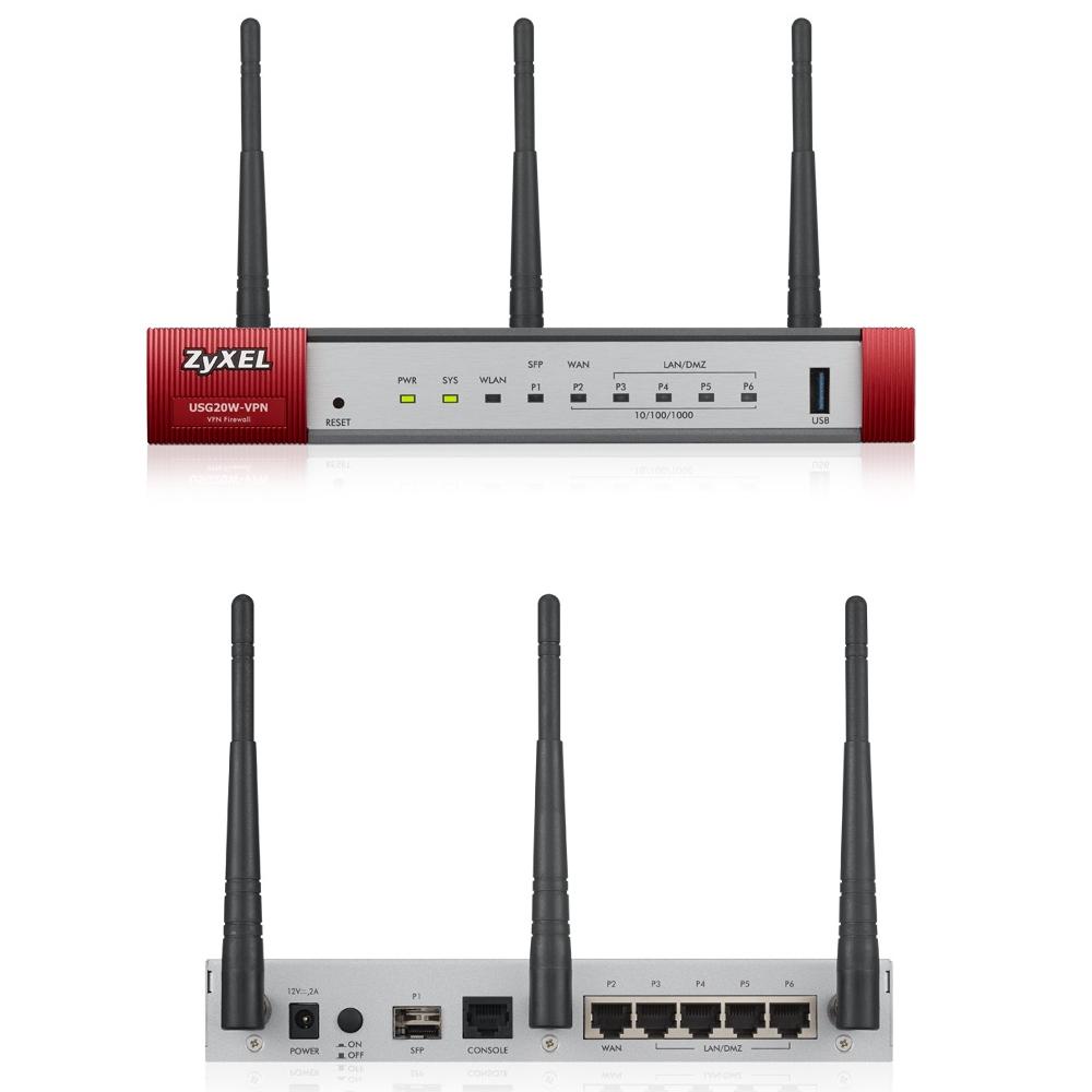 Wi-Fi роутер ZyXEL USG20W-VPN