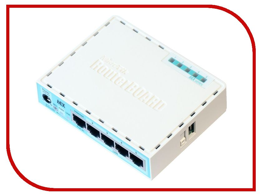 MikroTik hEX RB750Gr3 цена