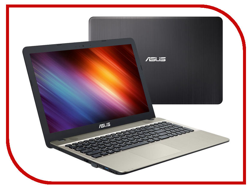 Ноутбук ASUS X541SA-XX327D 90NB0CH1-M04950 (Intel Pentium N3710 1.6 GHz/2048Mb/500Gb/Intel HD Graphics/Wi-Fi/Cam/15.6/1366x768/DOS)<br>
