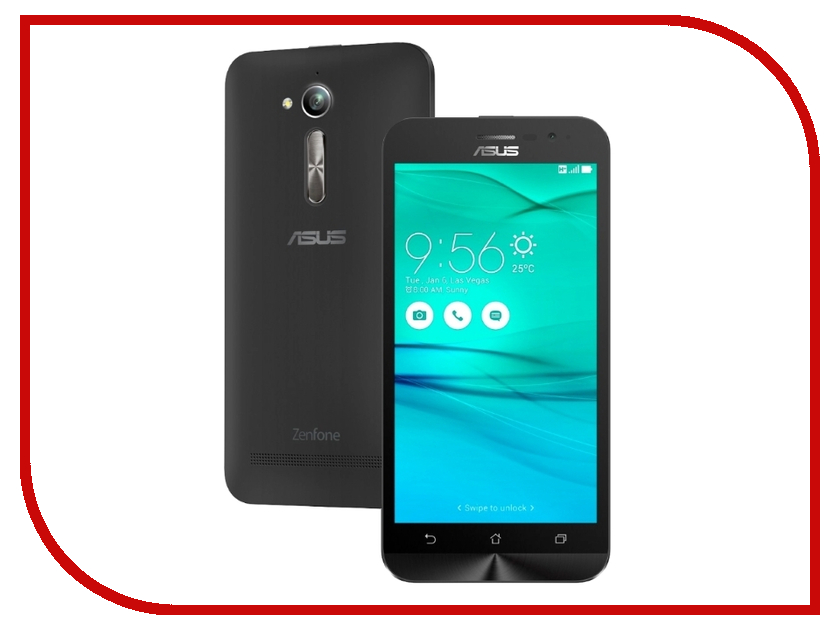 Сотовый телефон ASUS ZenFone Go ZB500KG 8Gb Black сотовый телефон acer liquid zest z525 black
