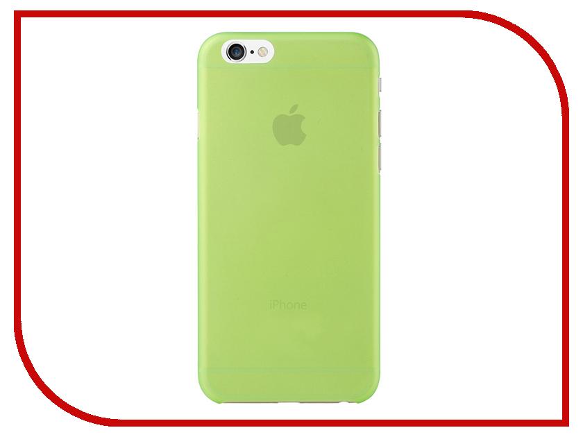 Аксессуар Чехол Fotololo для APPLE iPhone 6 Green<br>