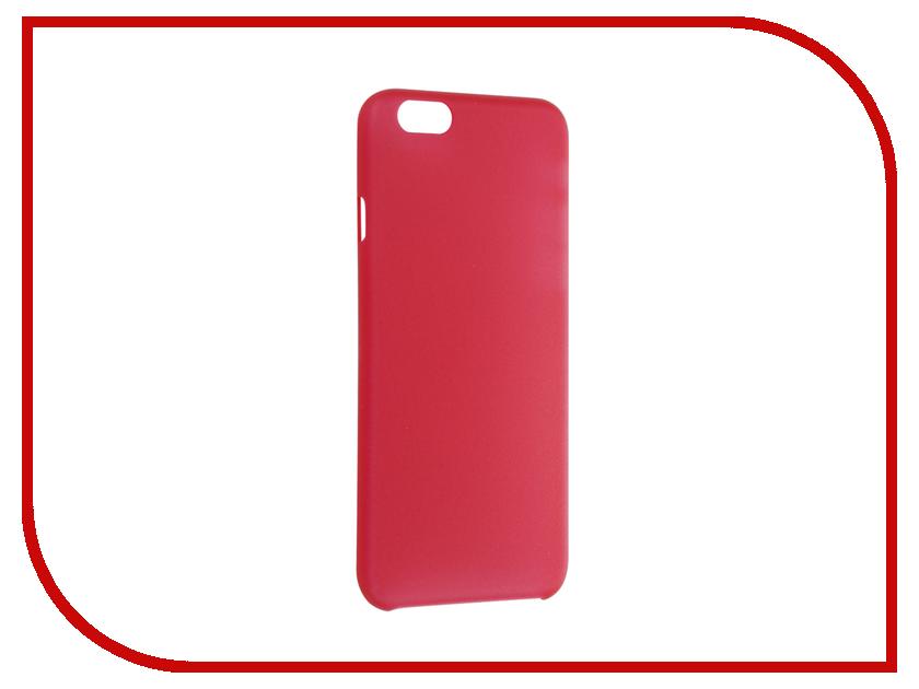 Аксессуар Чехол Fotololo для APPLE iPhone 6 Red<br>