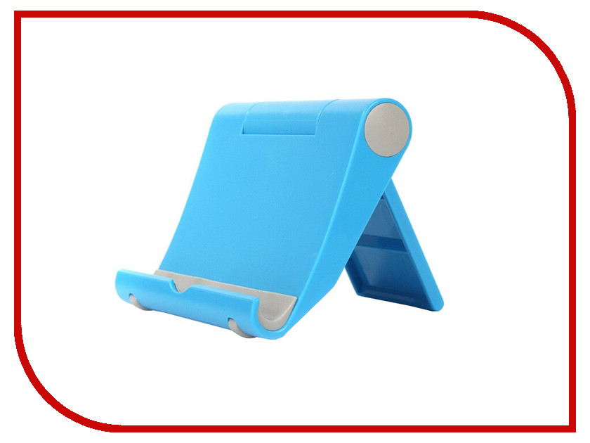 Аксессуар Apres Foldable Universal Stand for Tablet and Smartphone Blue<br>