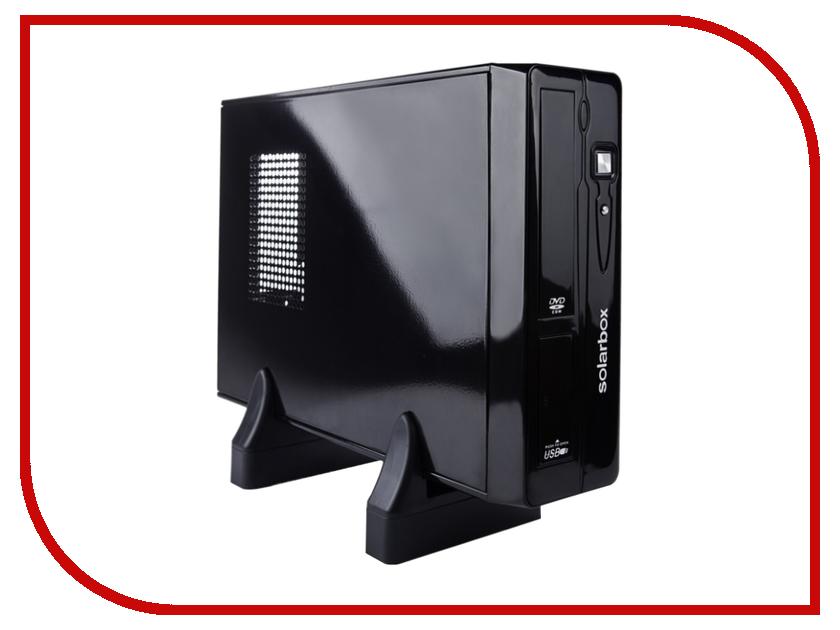 Корпус SolarBox Flex-ATX Minitower M-10 Black