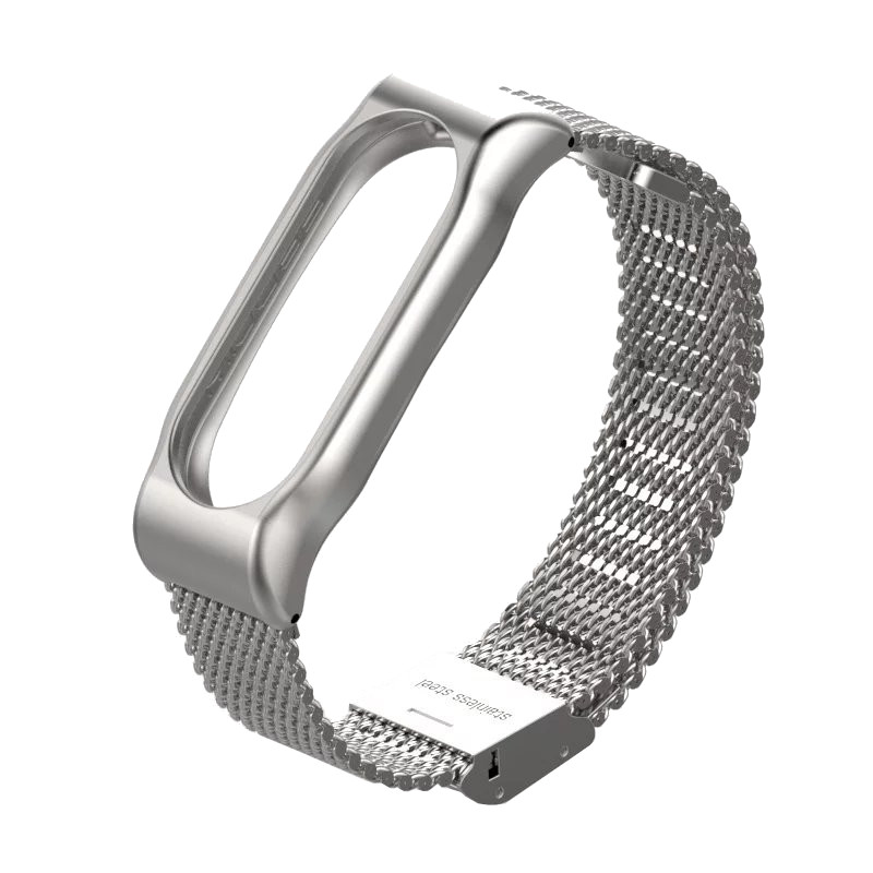 Aксессуар Ремешок Apres Mijobs Metal Strap for Xiaomi Mi Band 2 Silver