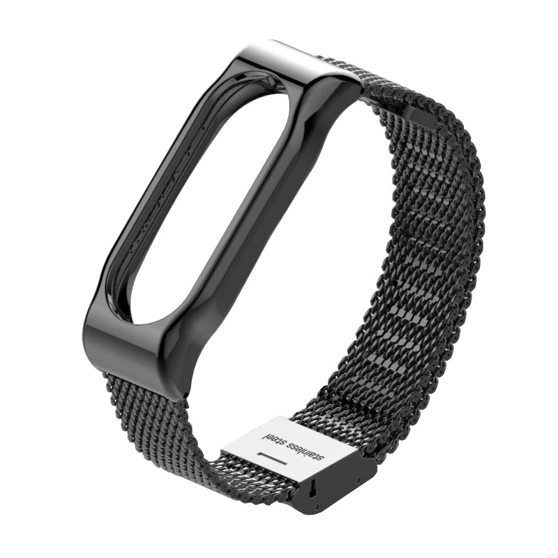 Aксессуар Ремешок Apres Mijobs Metal Strap for Xiaomi Mi Band 2 Black