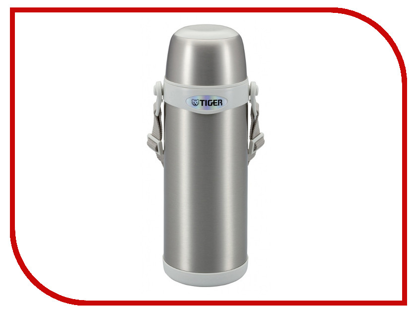 Термос Tiger MBI-A100 1L Clear Stainless White<br>