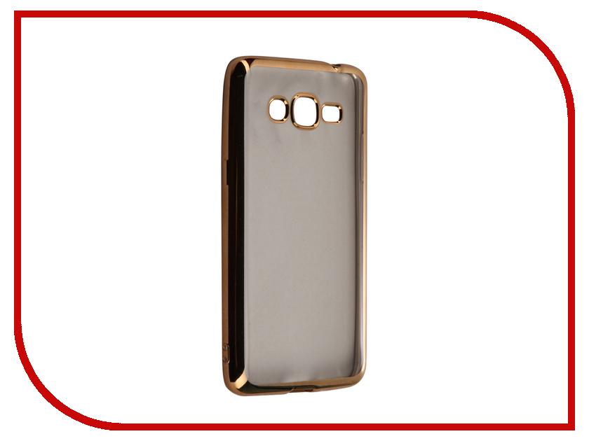 Аксессуар Чехол Samsung Galaxy J2 Prime / Grand Prime 2016 DF sCase-36 Gold<br>