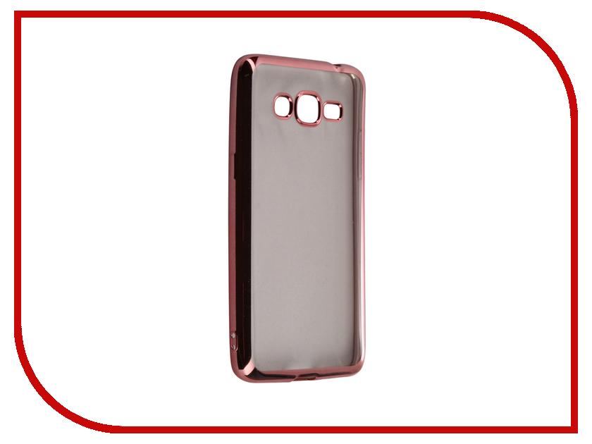 Аксессуар Чехол Samsung Galaxy J2 Prime / Grand Prime 2016 DF sCase-36 Rose Gold<br>