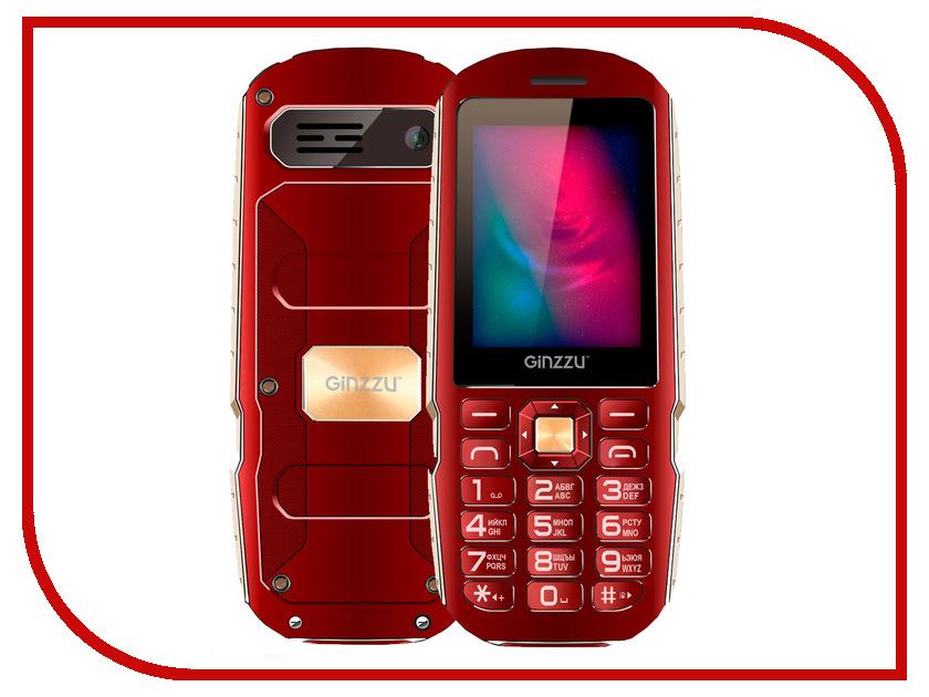 купить Сотовый телефон Ginzzu R1D Red по цене 1570 рублей