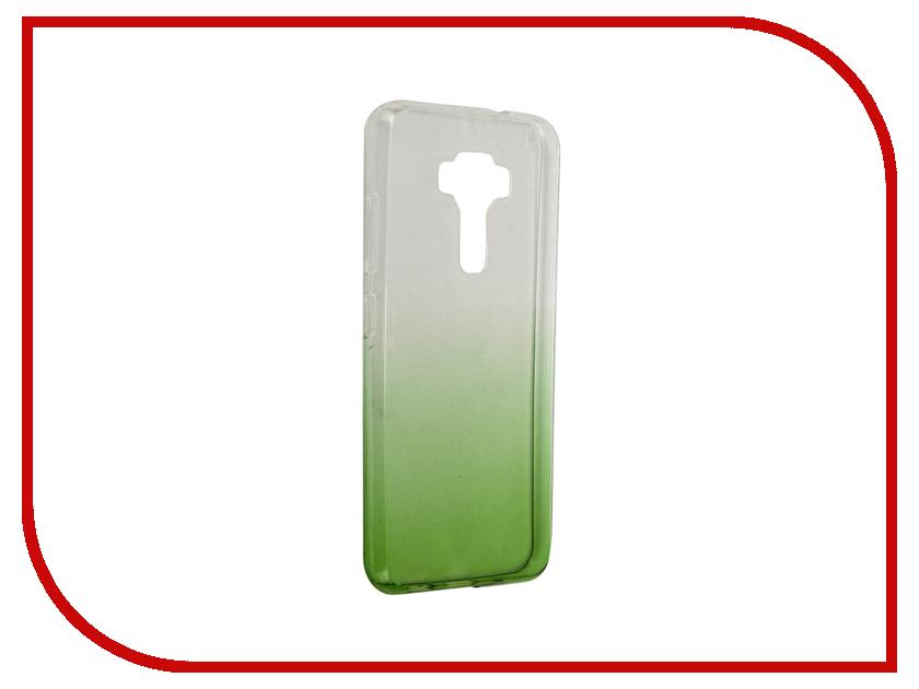 Аксессуар Чехол-крышка ASUS ZenFone 3 ZE520KL IQ Format Green<br>
