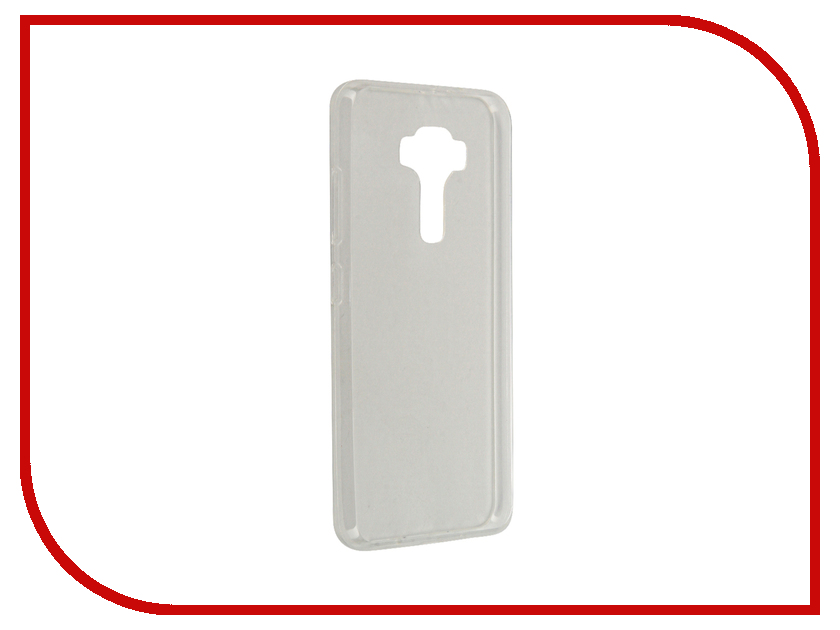 Аксессуар Чехол-крышка ASUS ZenFone 3 ZE520KL IQ Format Transparent