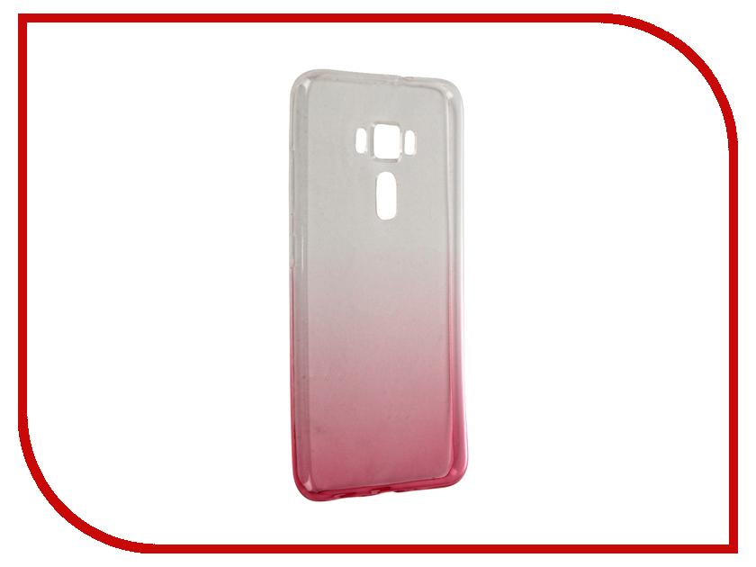 Аксессуар Чехол-крышка ASUS ZenFone 3 ZE552KL IQ Format Red<br>
