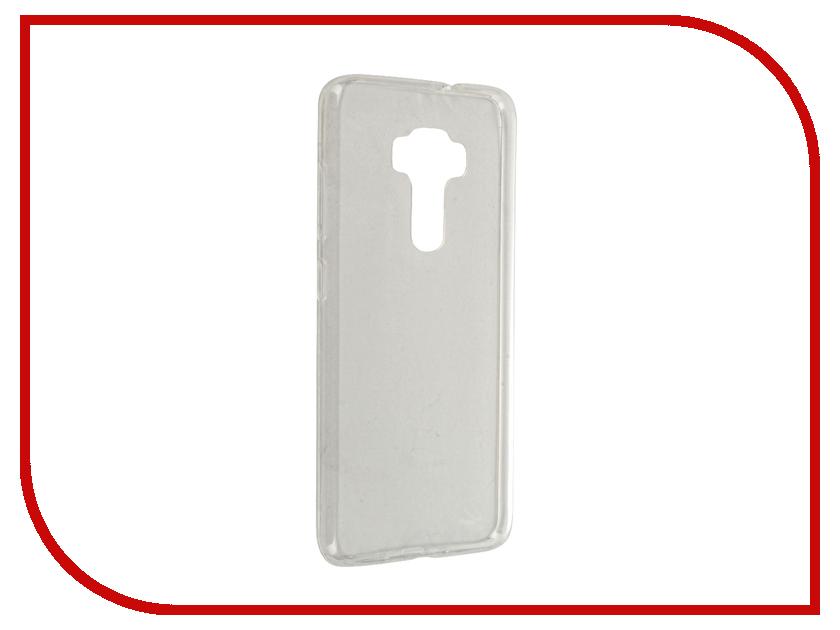 Аксессуар Чехол-крышка ASUS ZenFone 3 ZE552KL IQ Format Transparent<br>