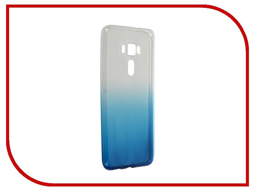 Аксессуар Чехол-крышка ASUS ZenFone 3 ZE552KL IQ Format Blue<br>