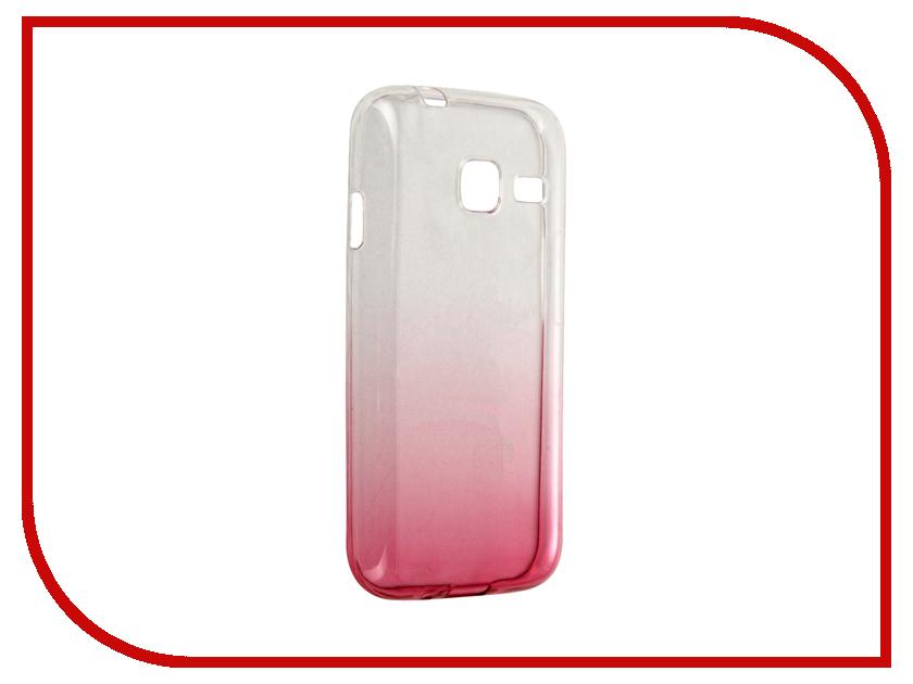 Аксессуар Чехол-крышка Samsung Galaxy J1 Mini J105F IQ Format Red<br>