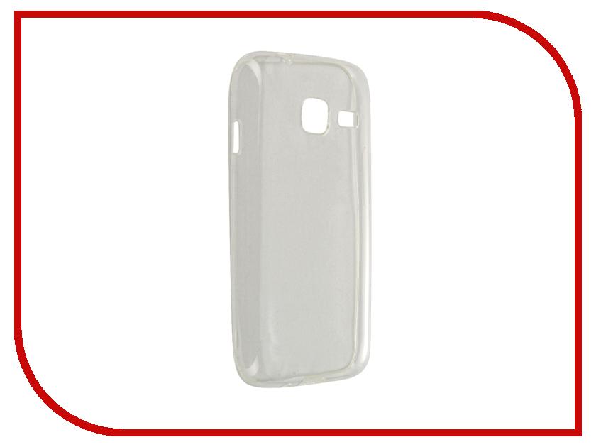 Аксессуар Чехол-крышка Samsung Galaxy J1 Mini J105F IQ Format Transparent<br>
