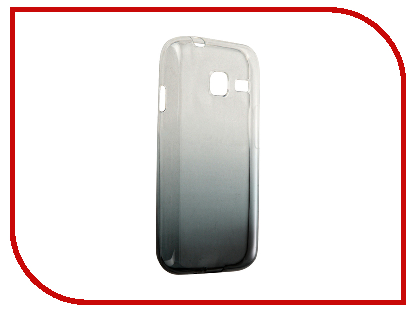 Аксессуар Чехол-крышка Samsung Galaxy J1 Mini J105F IQ Format Grey<br>