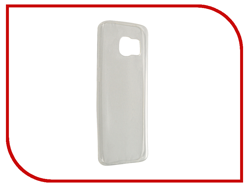Аксессуар Чехол-крышка Samsung Galaxy S6 Edge IQ Format Transparent<br>