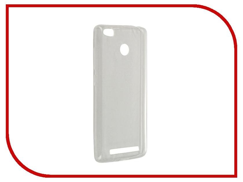 Аксессуар Чехол-крышка Xiaomi Redmi 3s IQ Format Transparent<br>