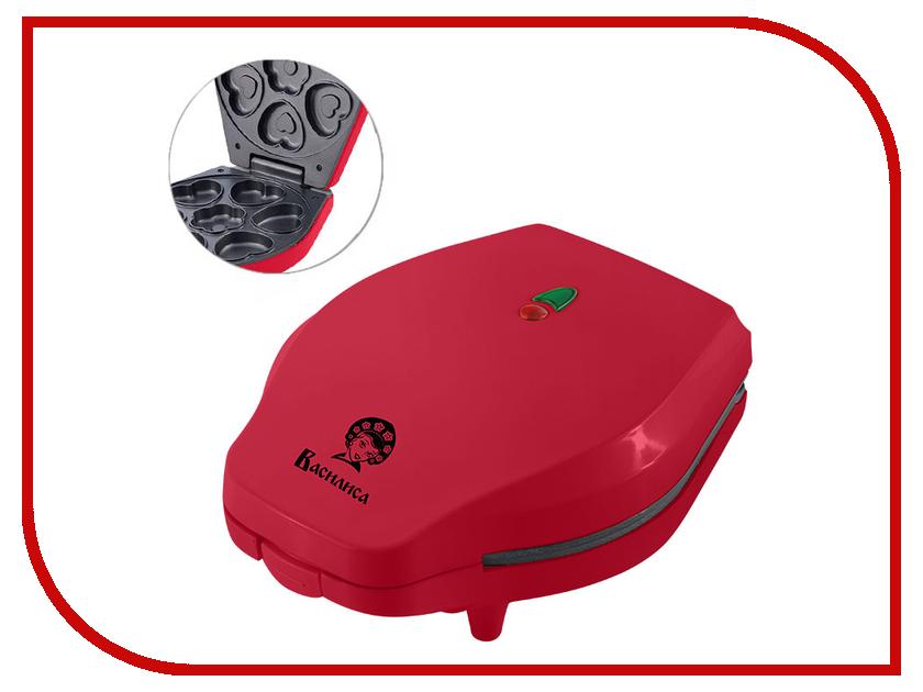 Вафельница Василиса В7-700 Red тостер василиса тс4 700 белый с малиновым