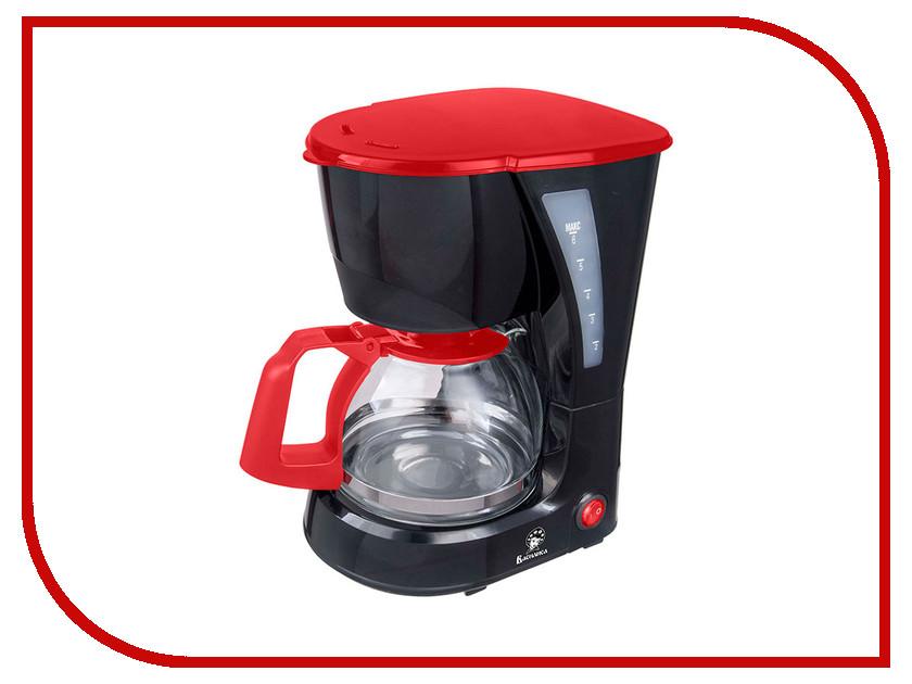 Кофеварка Василиса КВ1-600 Black-Red