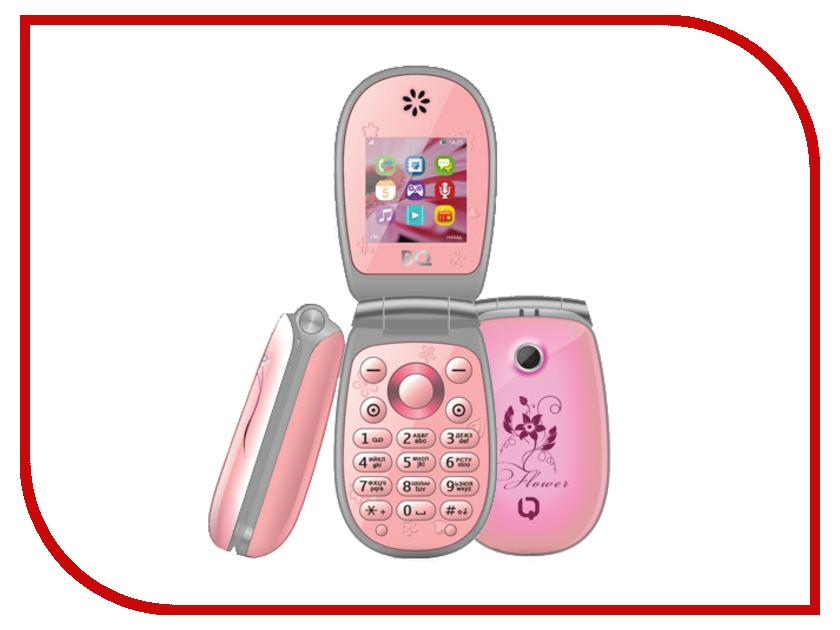 Сотовый телефон BQ BQM-1410 Flower Pink<br>