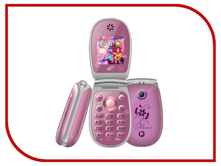 Сотовый телефон BQ BQM-1410 Flower Violet телефон bq bqm 2403 orlando ii black