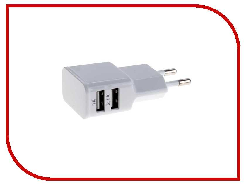 Зарядное устройство Exployd USB White EX-Z-140 usb flash drive 4gb exployd 570 white ex 4gb 570 white