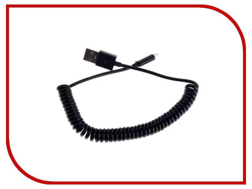 Аксессуар OltraMax USB to microUSB 1.5m Black OM-K-184