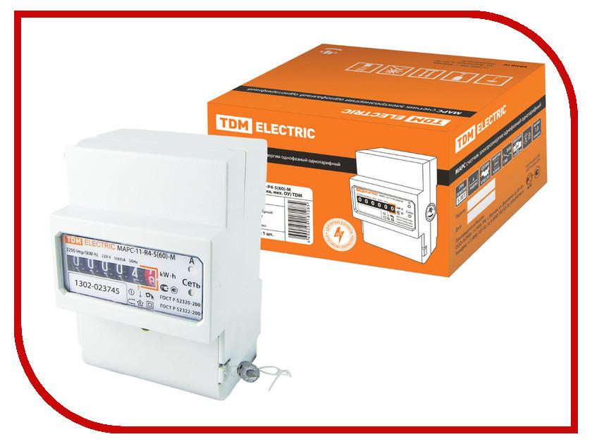 Счетчик электроэнергии TDM-Electric МАРС-1.0-11-Р4-5(60)М SQ1105-0004<br>