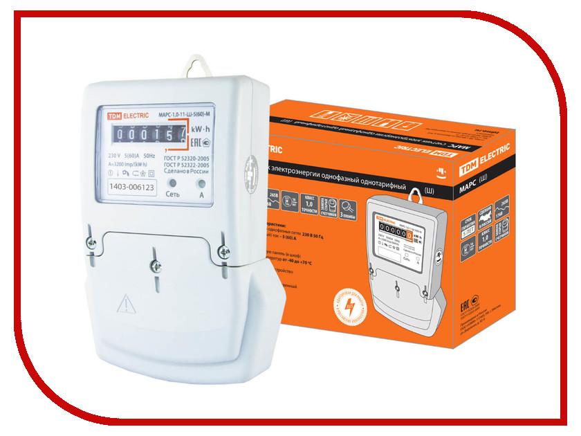 Счетчик электроэнергии TDM-Electric МАРС-1.0-11-Ш-5(60)-М SQ1105-0008