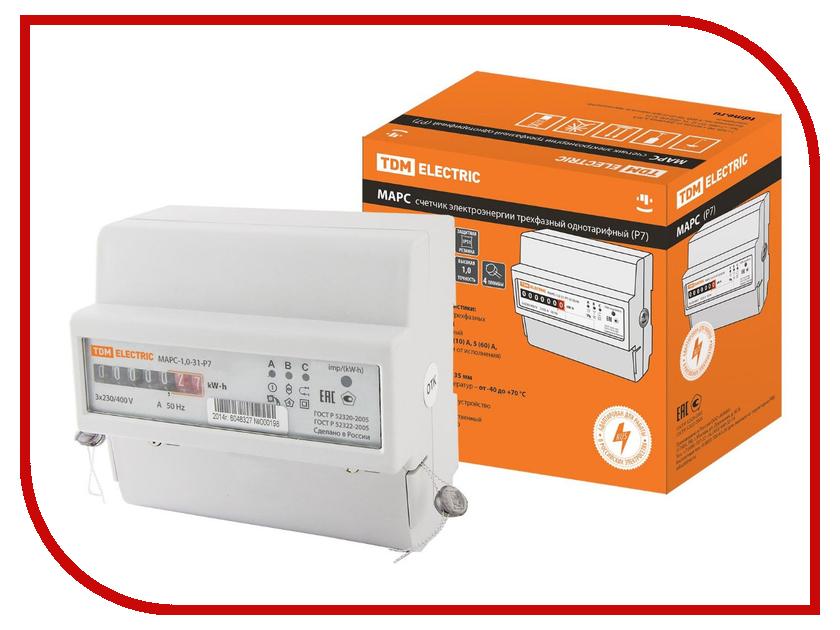 Счетчик электроэнергии TDM-Electric МАРС-1.0-31-Р7-5(100)-М SQ1105-0017