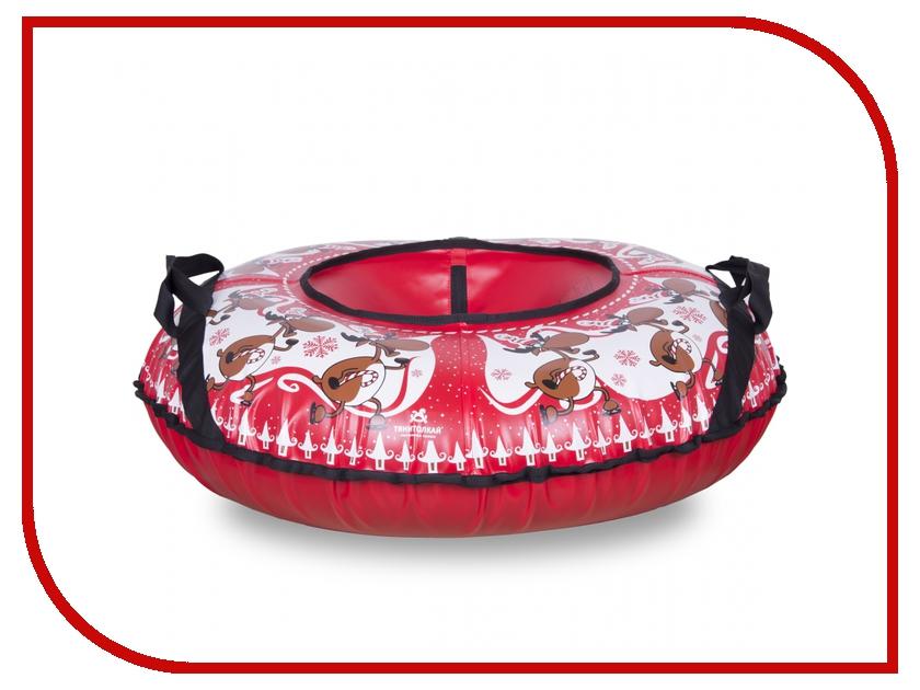 Тюбинг Тяни-толкай Новогодний олень 83см lori фигурки из бисера мышонок