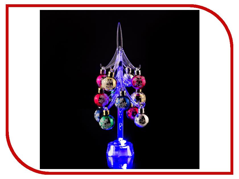 Новогодний сувенир Lefard Елочка с шарами 25cm с подсветкой 786-170<br>