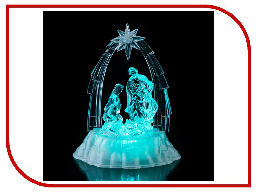 Новогодний сувенир Lefard Вертеп 20cm c подсветкой 786-200