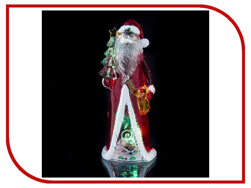 Новогодний сувенир Lefard Дед Мороз 15cm с подсветкой 786-209 новогодний сувенир luazon дед мороз под елкой 1353359