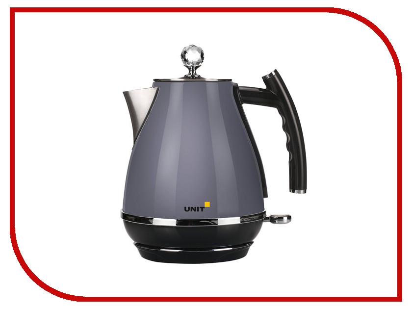 Чайник UNIT UEK-263 Grey<br>