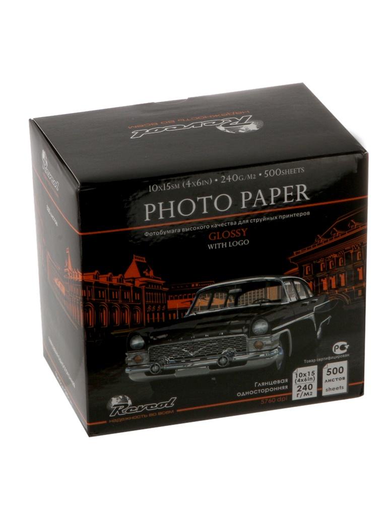 Фотобумага Revcol 10x15 (4х6 in) 240g/m2 глянцевая 500 листов Premium
