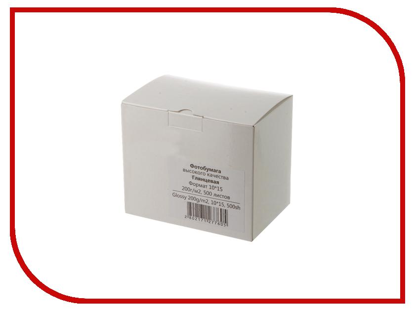Фотобумага Revcol 10x15 200g/m2 глянцевая 500 листов Econom бумага iq premium a4 200g m2 250 листов a 169