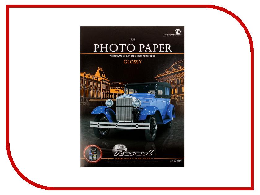 Фотобумага Revcol A4 200g/m2 глянцевая 100 листов Econom crest 200g